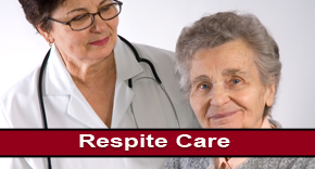 Nurse and Elderly Lady - Assisted Living Company
